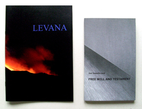 "Levana No. 1 (2011), with ""Free Will and Testament"", a screenplay by Zoë Lund, 1991"